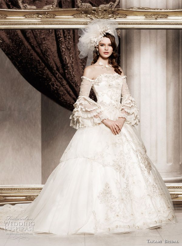 Royal Wedding Dresses by Takami Bridal | Bridal Gowns (10)/ Wedding ...