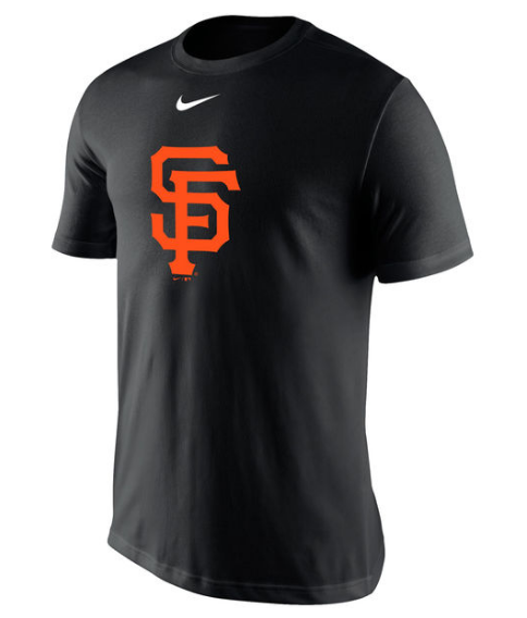 MEN S SAN FRANCISCO GIANTS NIKE BLACK BATTING PRACTICE LOGO LEGEND  PERFORMANCE T-SHIRT be68cad73