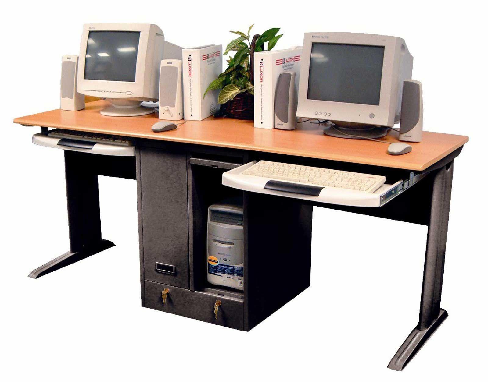 Dual puter Desk For Home Dual puter Desk For Home fice