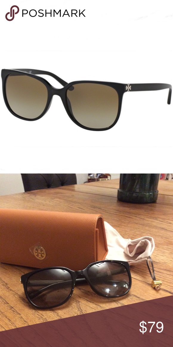 556629b2d114 Tory Burch Sunglasses Tory Burch ty 7106 sunglasses Plastic Black Tory Burch  Accessories Sunglasses