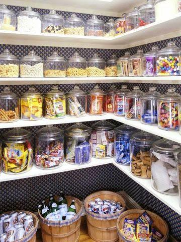 Como organizar despensa de alimentos