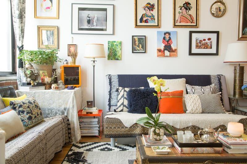 a designer s romantic worldly nyc apartment in 2019 apartment rh pinterest com