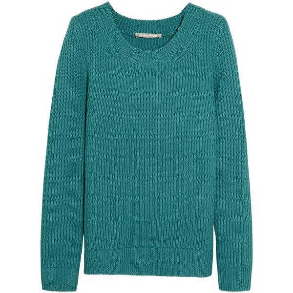 Richard Nicoll Ribbed merino wool sweater (1,720 CNY) ❤ liked on Polyvore