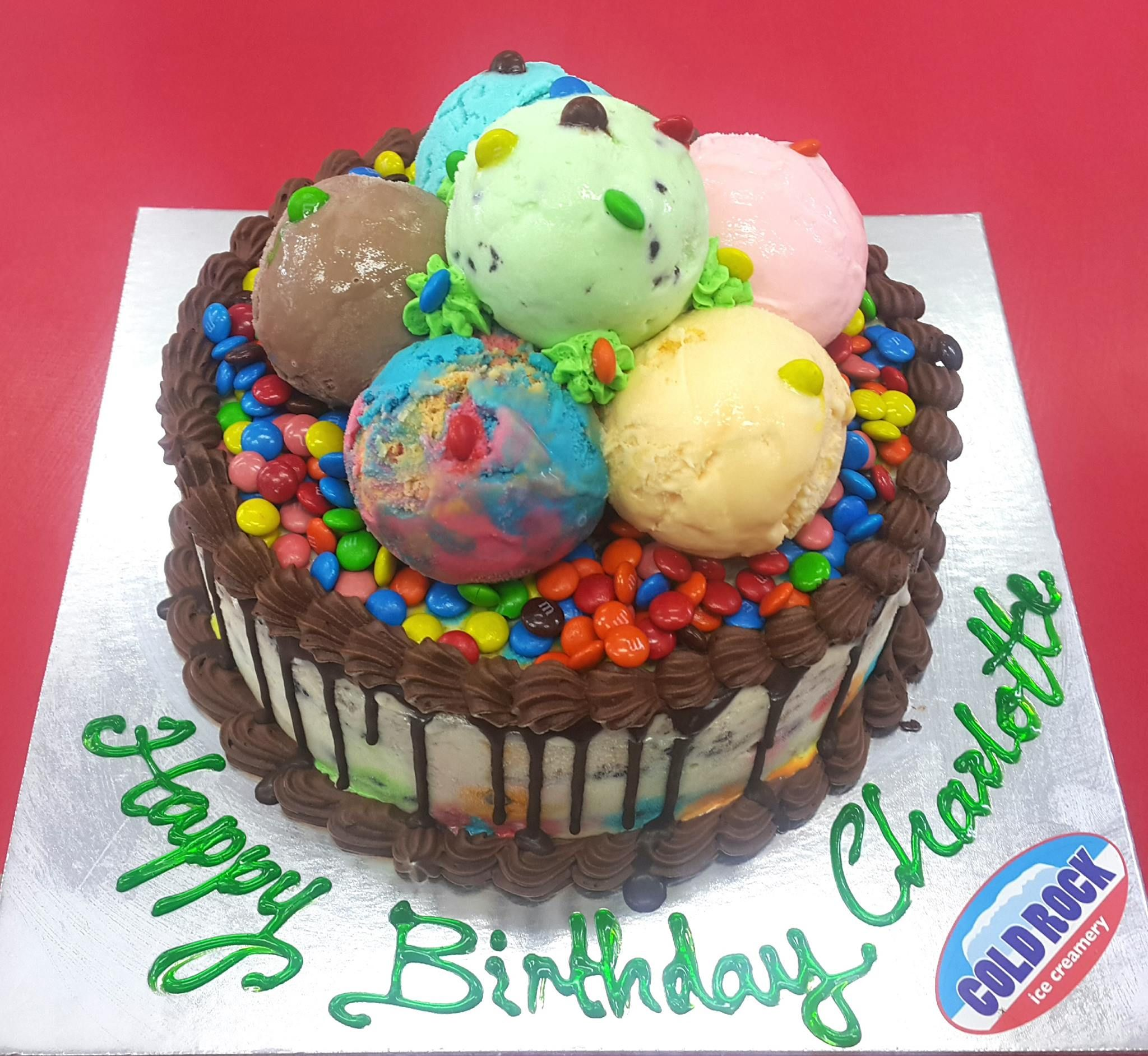 Cold Rock Ice Cream Cakes Made Fresh In Store Daily Adesa