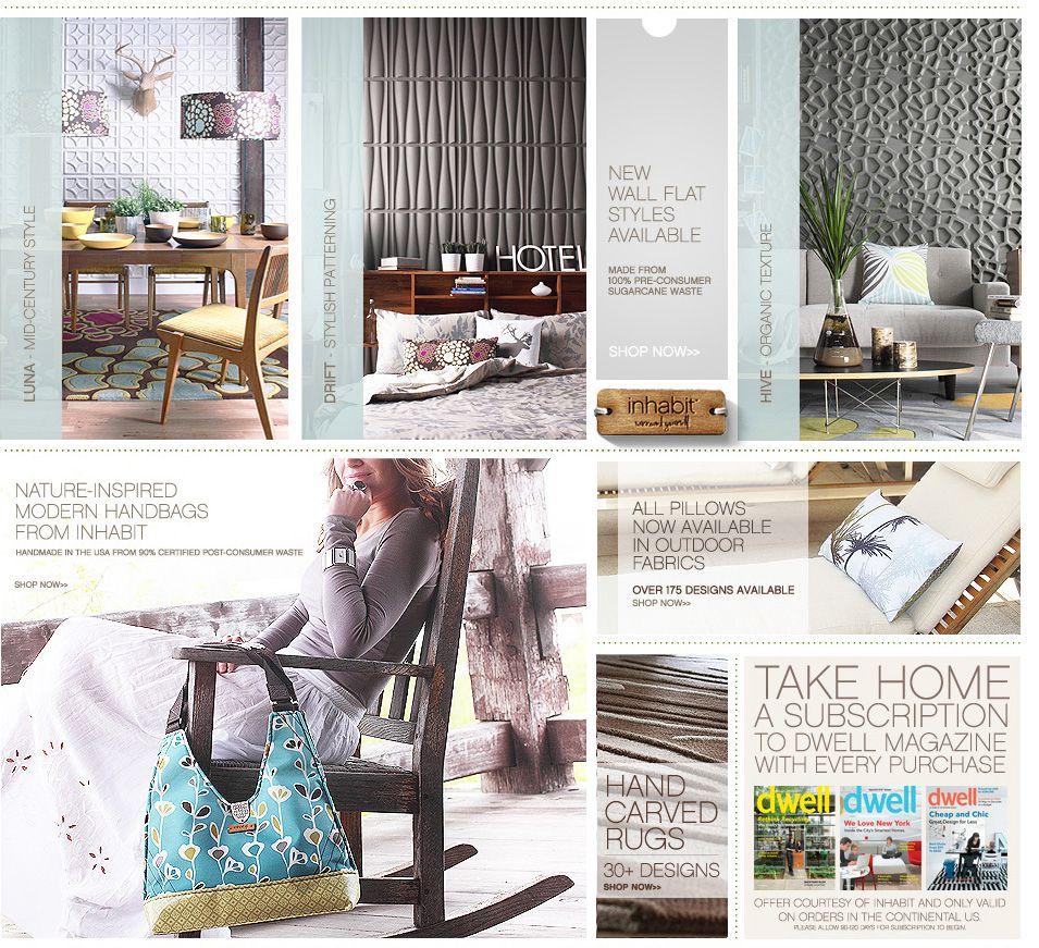 Home Goods Websites: So Interesting. Textured Walls.