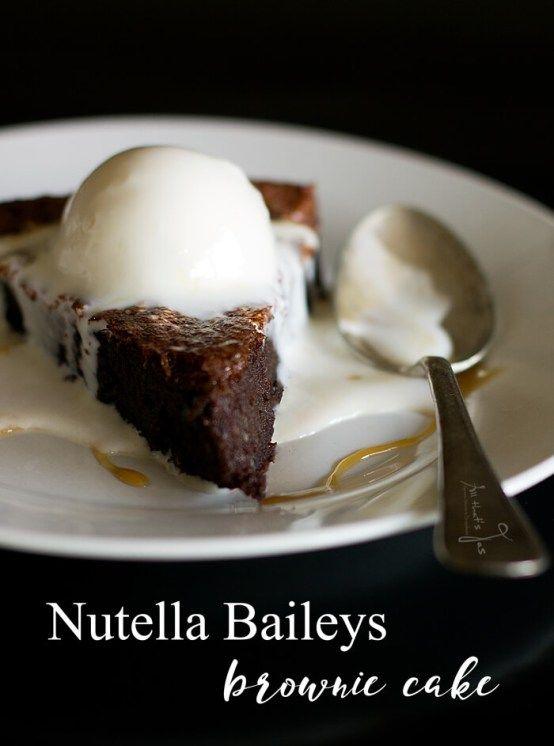 Nutella-Baileys-Brownie-Cake-