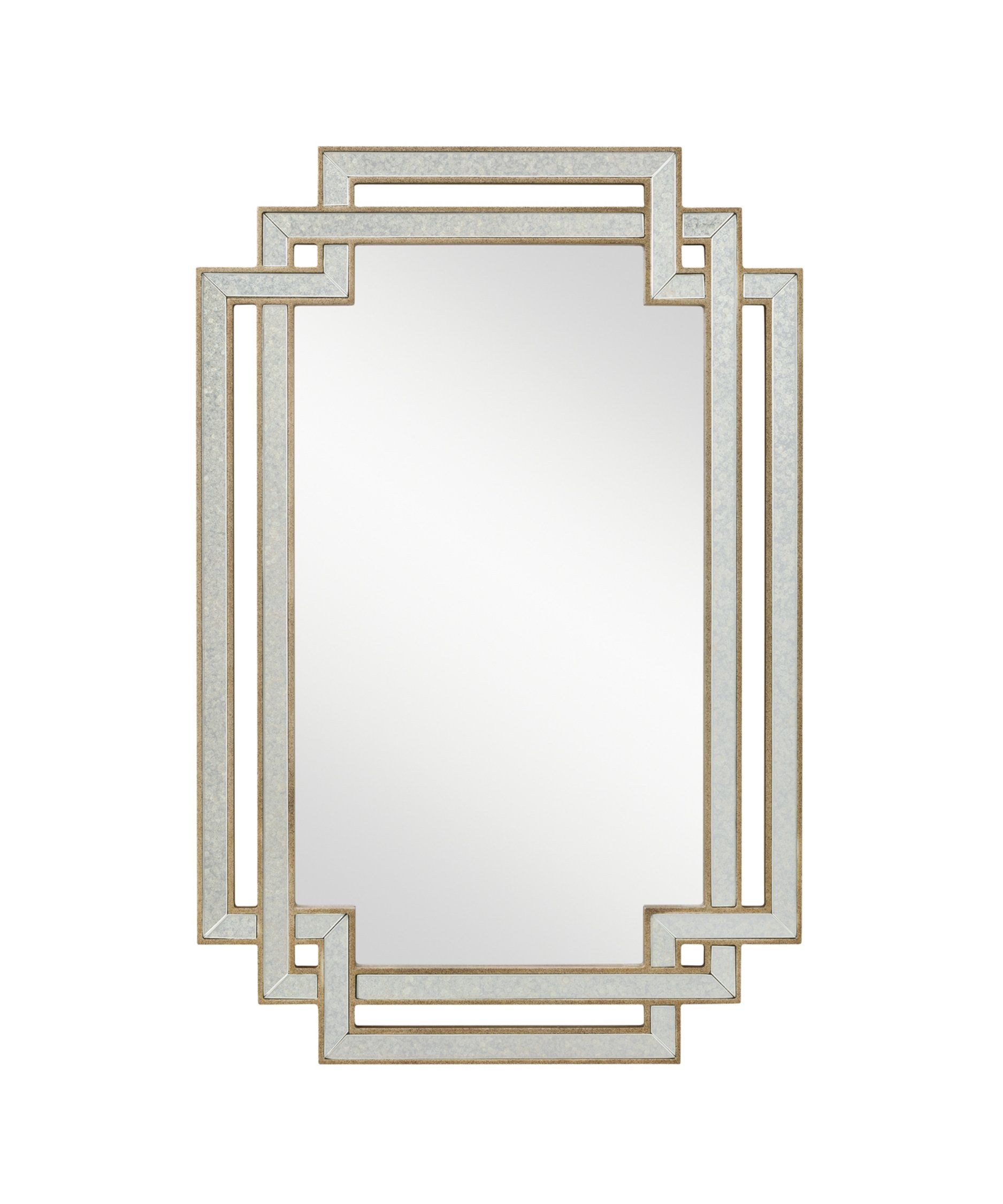 Kichler Lighting 78205 Hayworth Clear Wall Mirror And Silver