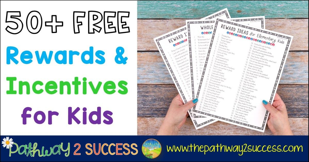 Photo of 50+ FREE Rewards & Incentives for Kids