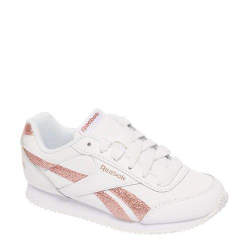 Reebok Royal CL Jog sneakers met glitters Reebok, Nieuwe
