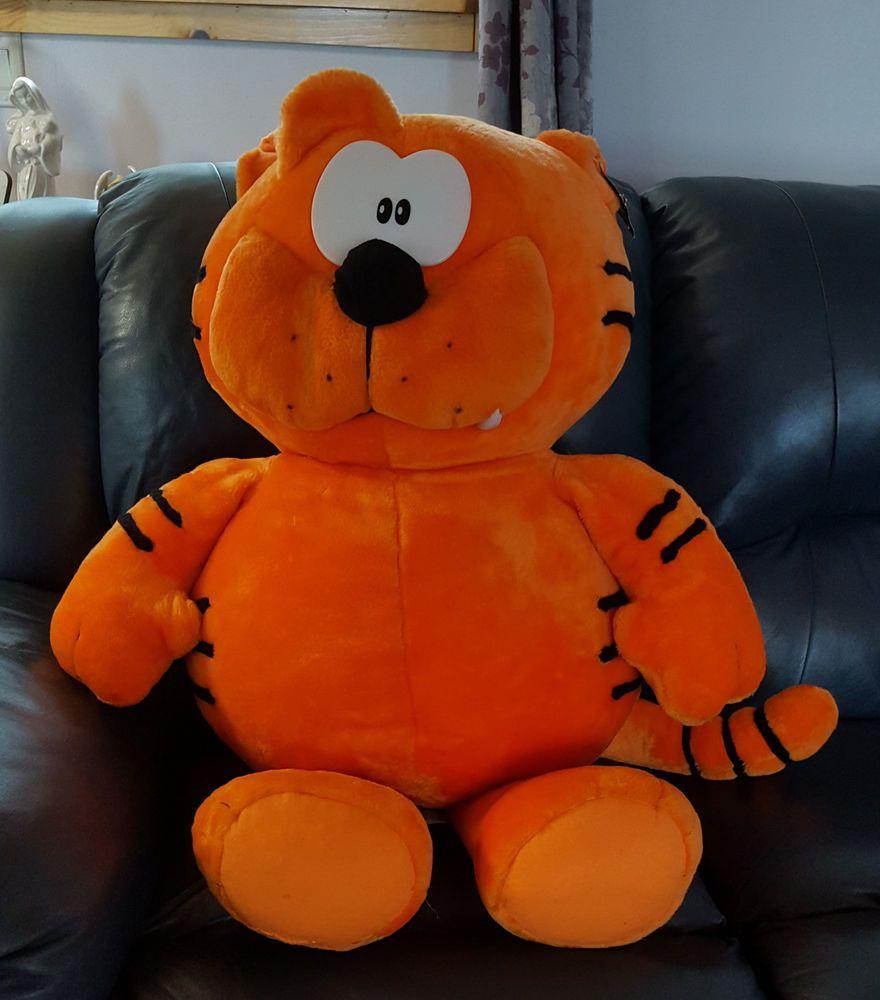 2bc1c2ec2df Nanco Heathcliff Plush HUGE Jumbo Giant Orange Cat 3 Feet tall  heathcliff   orange  cat  plush