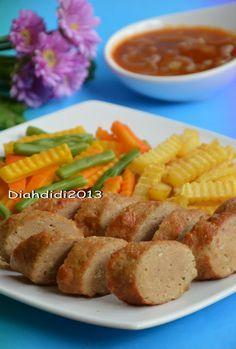 Diah Didi S Kitchen Happy Weekend Mari Masak Galantin Komplet Aja Yummy Resep Masakan Resep Makanan Beku Masakan