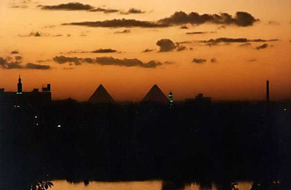 #Pharaoh #egypt #sunset