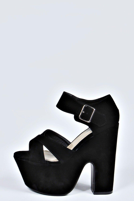 Zapatos De Tacón Grueso 9eb8517eeeab