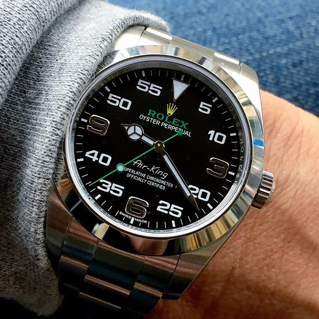 Baselwold 2016 AIR-KING 40mm Ref 116900 What's your opinion ? | http://ift.tt/2cBdL3X shares Rolex Watches collection #Get #men #rolex #watches #fashion