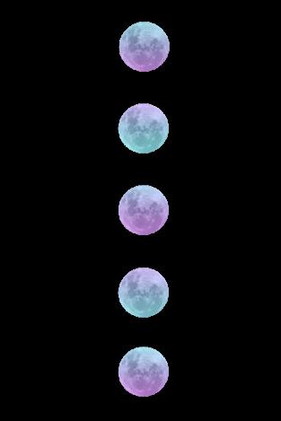 Tumblr Sticker By Fondos Tumblr Tumblr Transparents Watercolor Moon Overlays Transparent