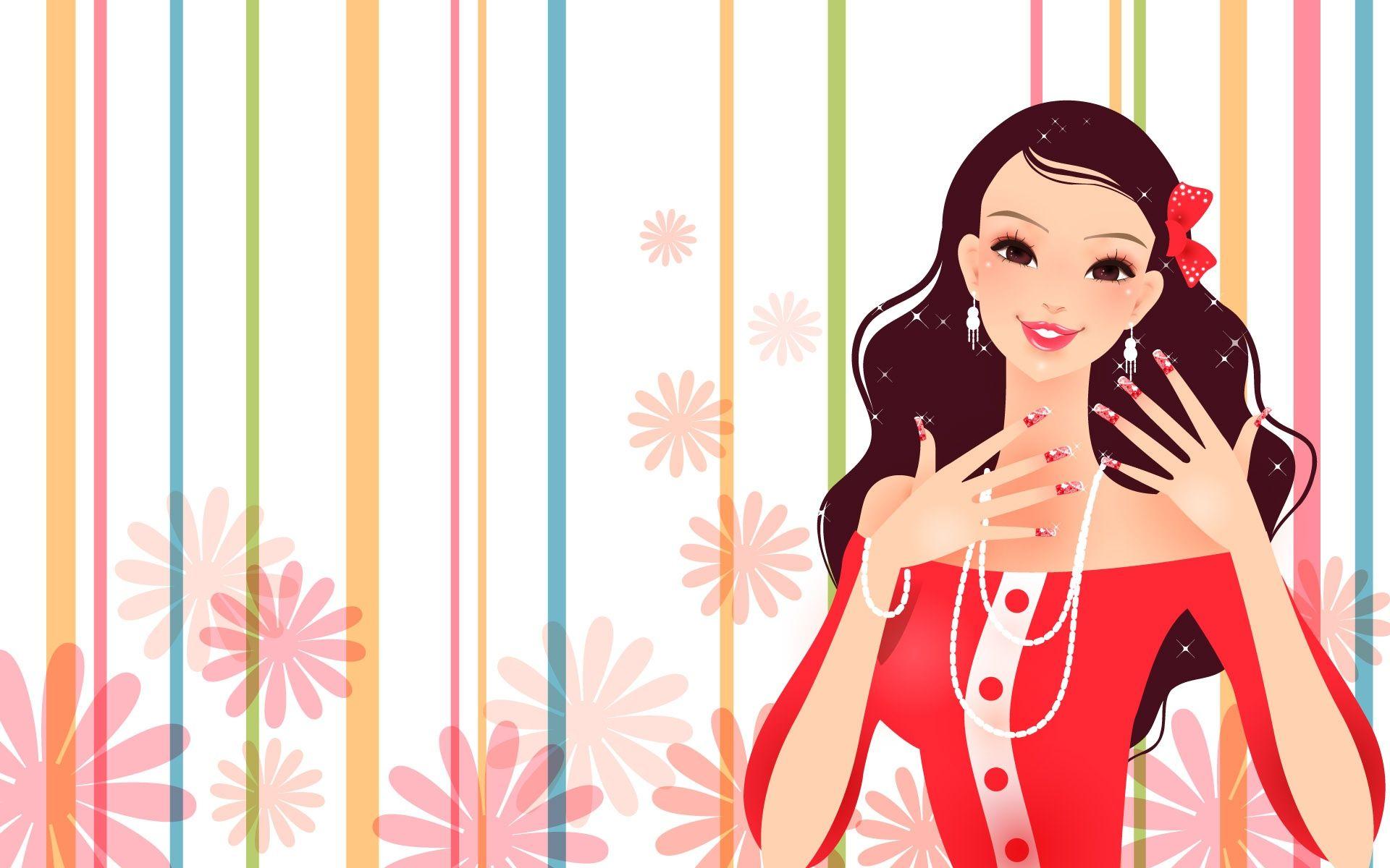 Gorgeous Dress Fashion Girl Fashion Wallpaper Girl Fashion Gorgeous Dresses Trends for art wallpaper hd for girls