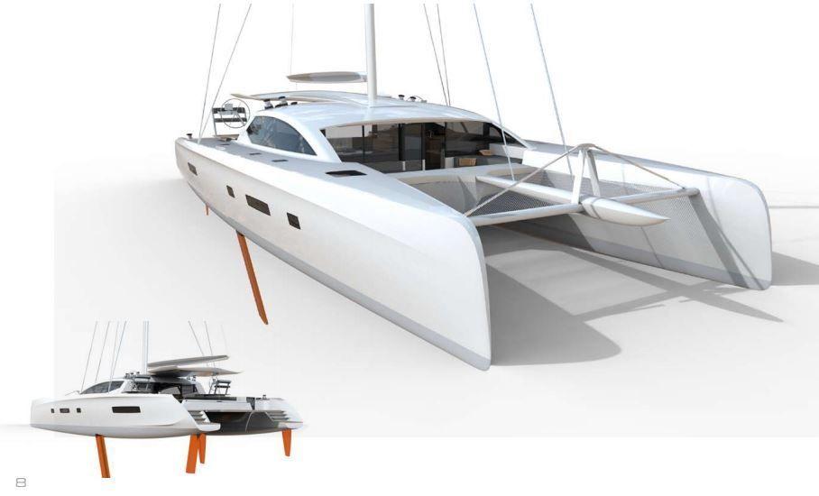Scoop Premi Res Images Du Futur Catamaran Outremer 7x Sailing Pinterest Bateaux Le