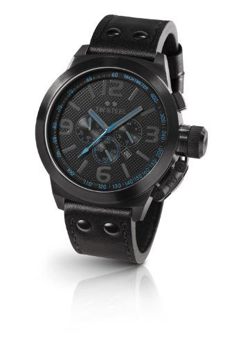 TW Steel Men's Quartz Watch Canteen Style TW-905 with Leather Strap   £316.19