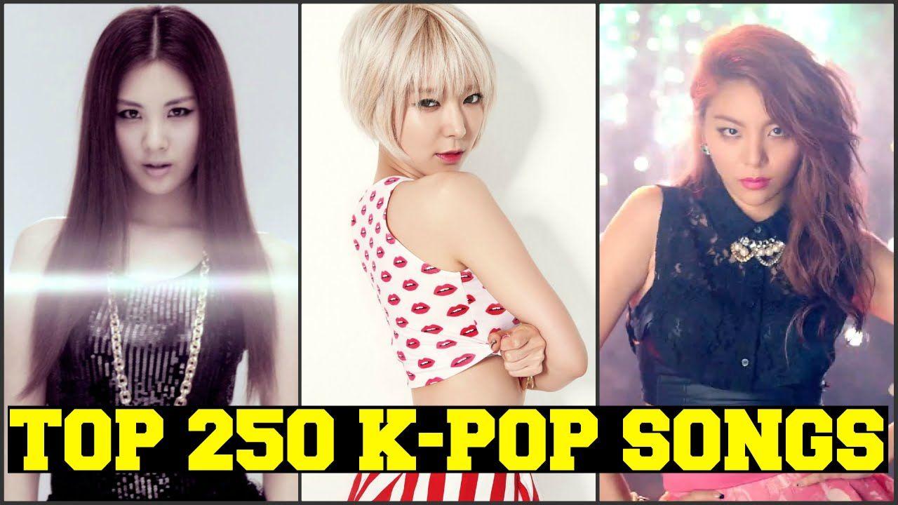 MY TOP 250 FAVORITE K-POP SONGS [PART 4 of 5] FEMALE VERSION | Epic