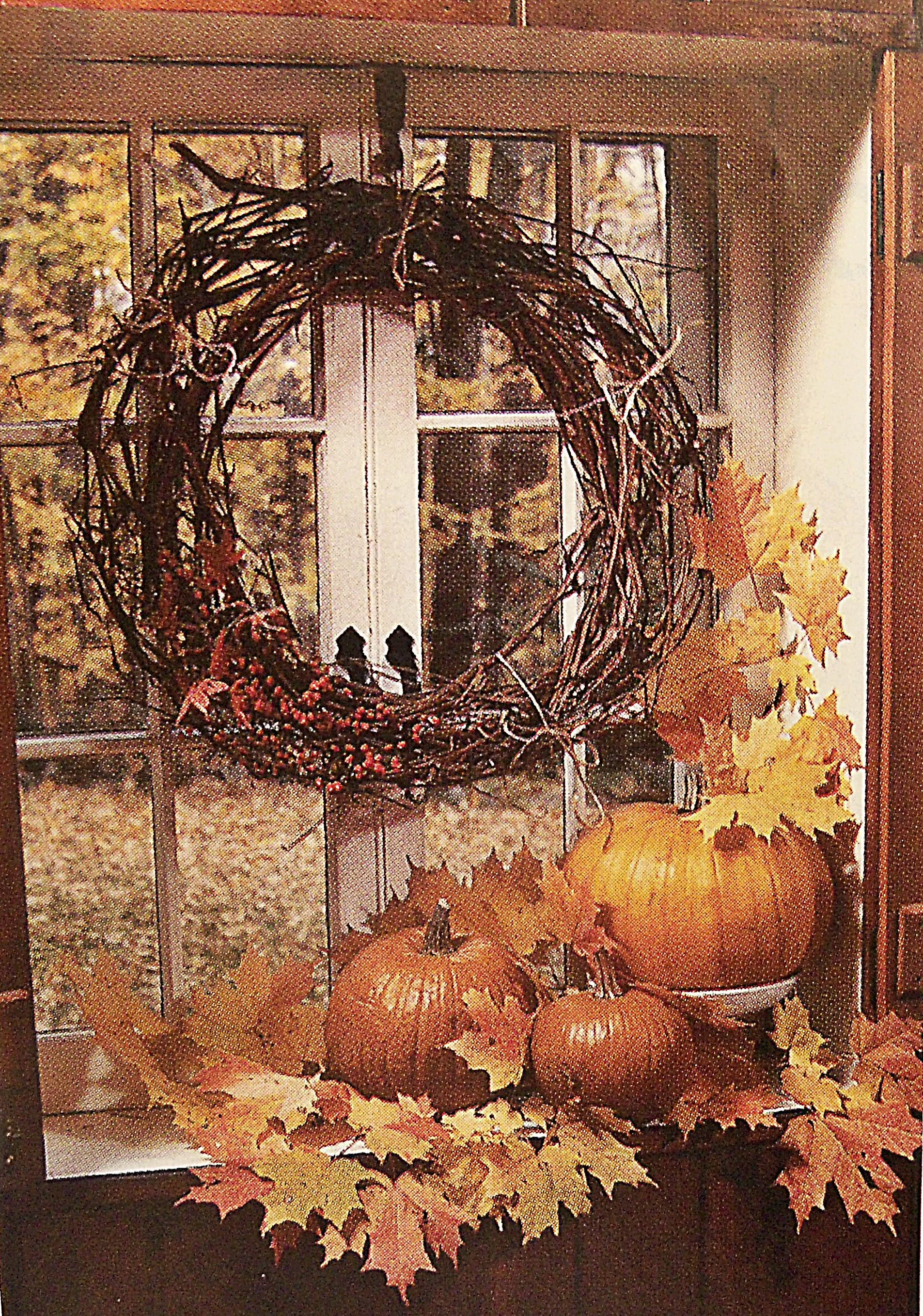 A pic I cut out of a magazine long agolove it happy halloween - halloween window decor