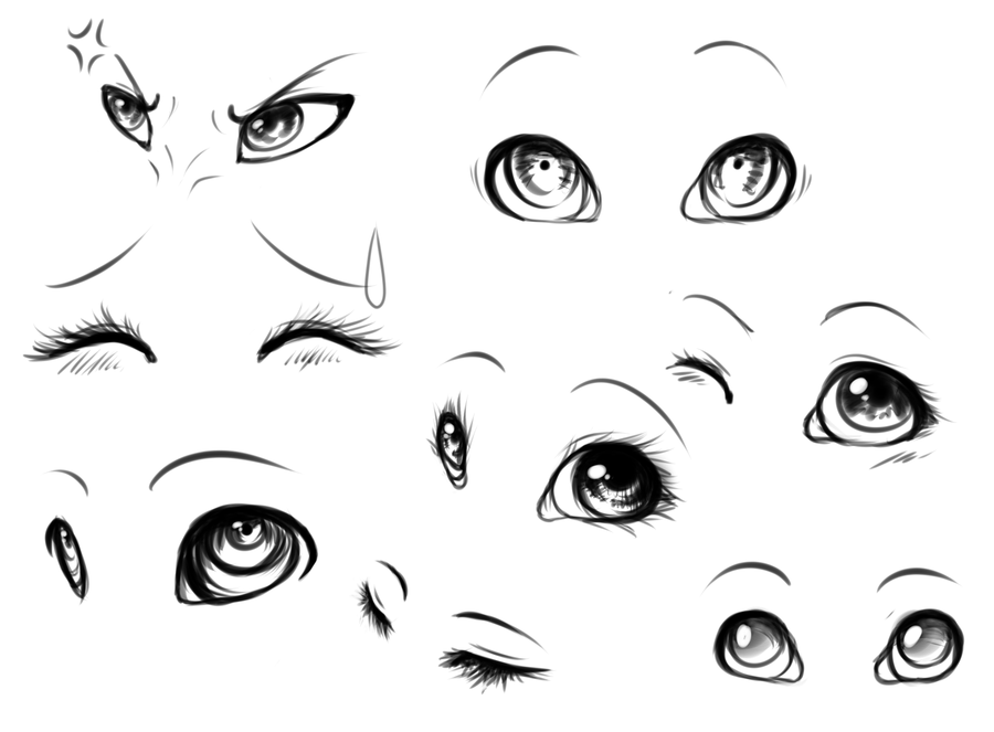 I Love To Draw Eyes By Reneah On Deviantart Eye Drawing Anime Eye Drawing Anime Eyes