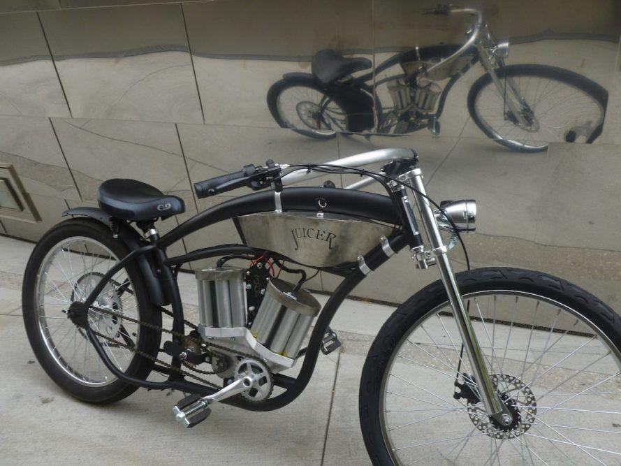 Juicer Electric Bikes Bridge Dorky Environmentalism And Cool Guy