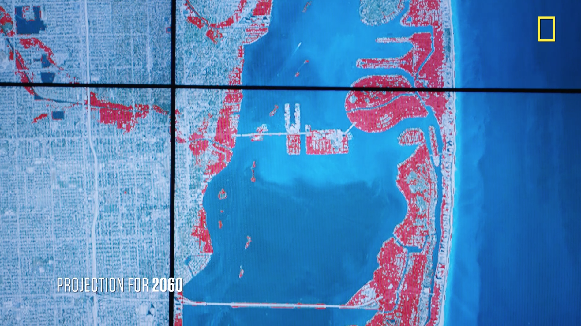 Maps Depict Projected Sea Level Rise In Miami Florida In 2030 2060 And 2100 Showing Impacts On The Dense Urban Dev Sea Level Rise Sea Level Coastal Cities