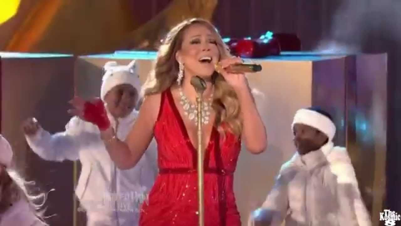 Mariah Carey - All I Want For Christmas Is You (Worst Performance ...