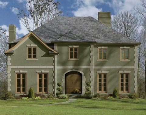 Body wethersfield moss hc 110 trim roxbury caramel hc - Benjamin moore exterior paint visualizer ...