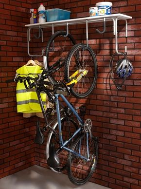 Range Velo Rangement Velo Crochet Velo Support Velo Mottez Rangement De Velos Dans Un Garage Amenagement Garage Rangement Velo Garage