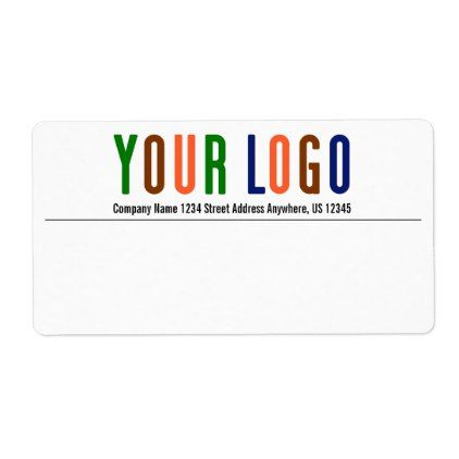 template - #Promotional Your Company or Event Logo Shipping Label - shipping slip template