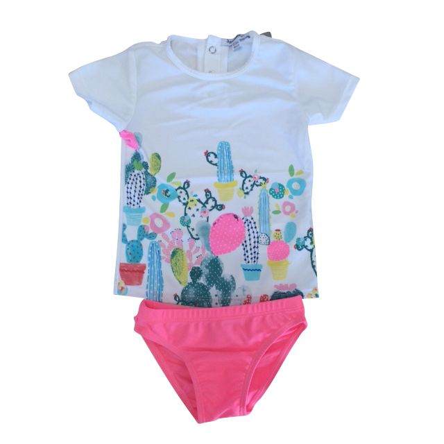 Sweet toddler & baby swimsuit £23.99 UPF40+ Protector. From designer 3 Pommes.