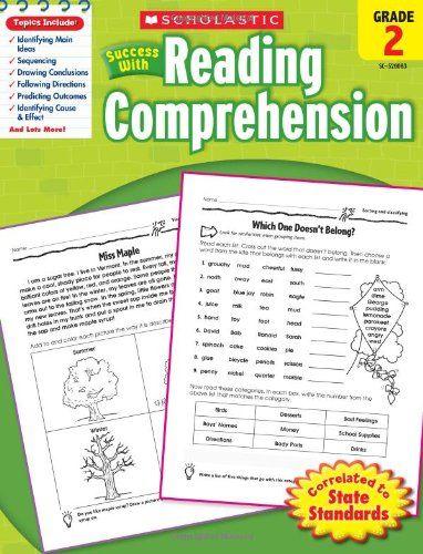 Scholastic Success With Reading Comprehension Grade 2scholastic