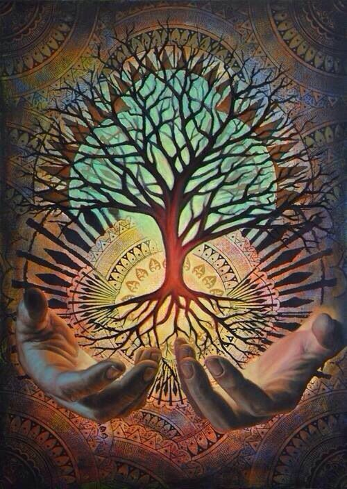 Branching Roots Limbs And Pathways Nick Herbert Tree Of Life Artwork