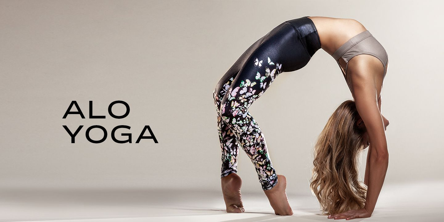 Alo Yoga Women's Activewear is available now on Carbon38