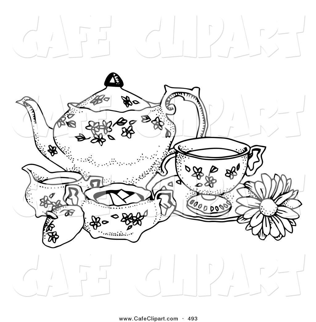Victorian Tea Party Clip Art