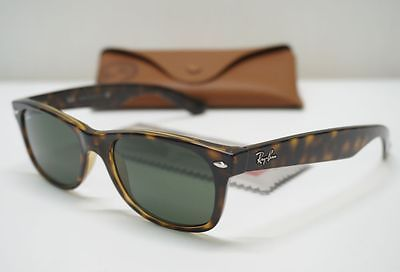 ef66784253 Ray-Ban RB2132 902 Tortoise Crystal 52-18 Authentic Sunglasses Italy ...