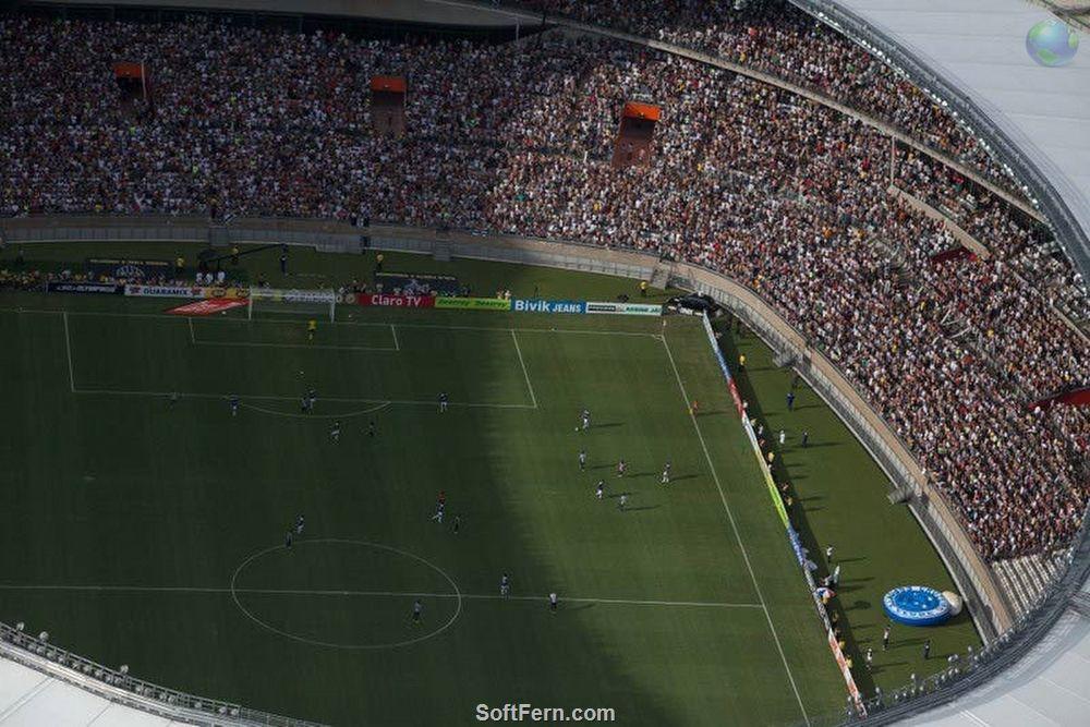 World Cup 2014 stadium: Mineirão (Mineirao). 14 PHOTOS  ... Mineirao now is the second largest stadium in Brazil (the largest one being Maracana).  http://softfern.com/NewsDtls.aspx?id=879&catgry=6
