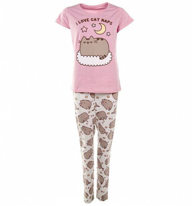 Women s Pusheen I Love Cat Naps Pyjamas  f70ed69ca