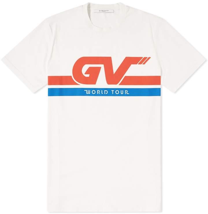Givenchy Gv World Tour Tee Sport Shirt Design Mens Tee Shirts Shirt Designs