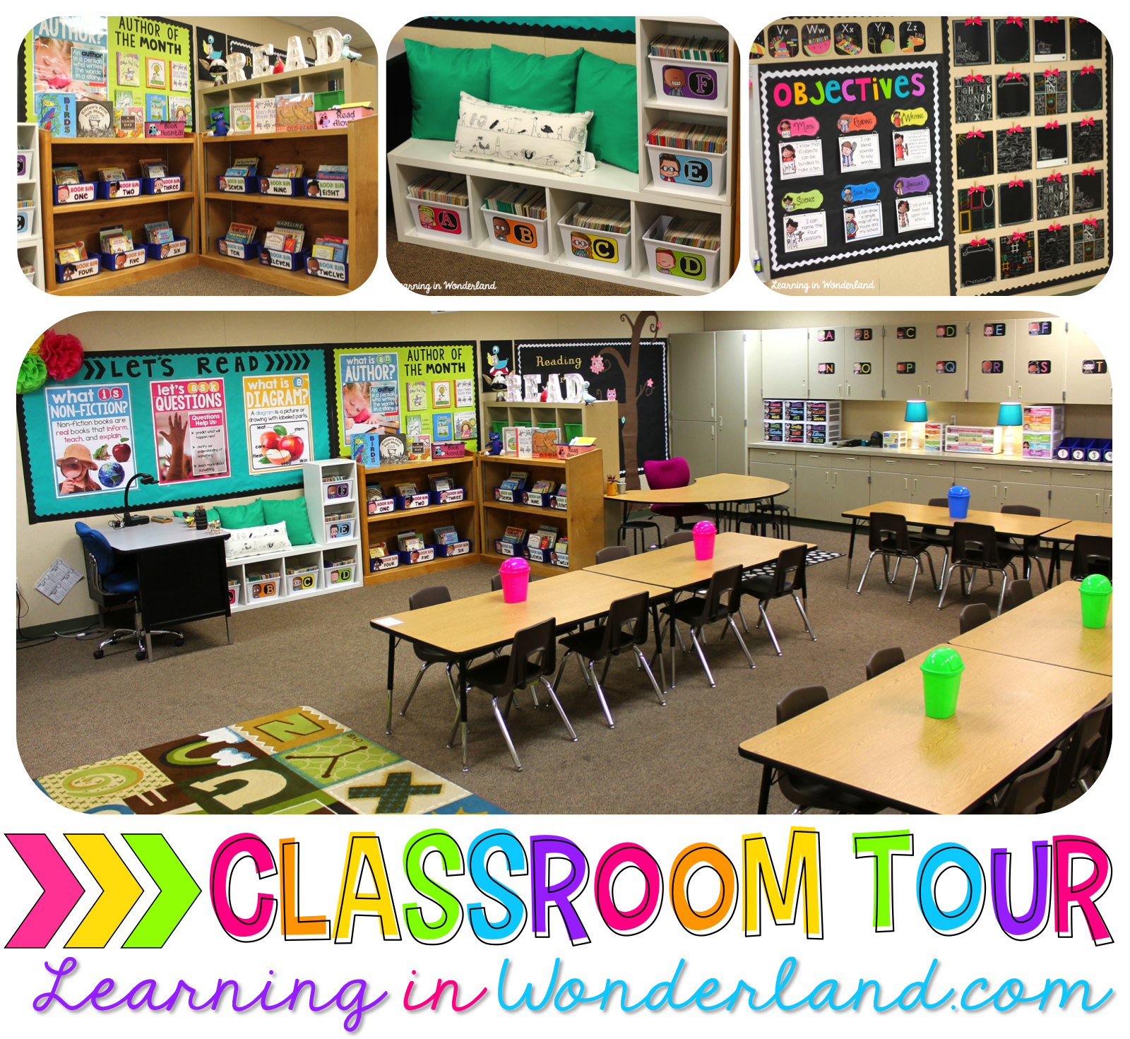 Learning in Wonderland // A teaching blog featuring time saving resources, beautiful & functional classroom décor, and teaching inspiration!