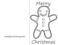 FREE printable Christmas cards to color and send to deployed ...