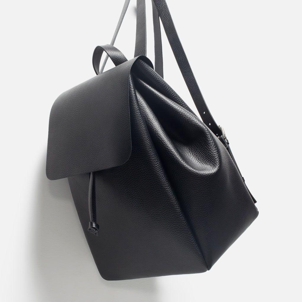 8817fee8a47 BACKPACK WITH FOLDOVER FLAP-Backpacks-Bags-WOMAN | ZARA United ...
