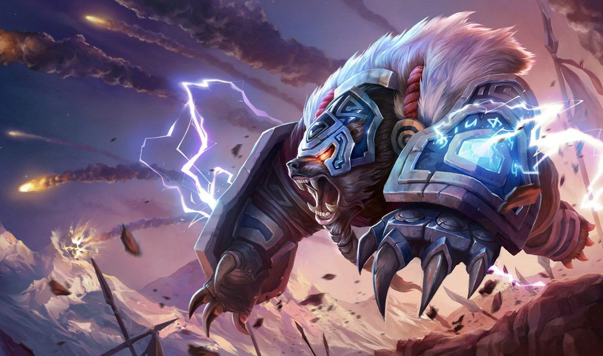 Volibear The Thunder S Roar League Of Legends In 2020 Lol League Of Legends Lol Champions League Of Legends