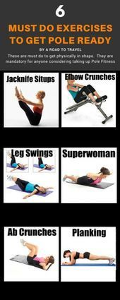6 Pole Fitness Exercises for Beginners  6 Pole Fitness Exercises for Beginners    This image has get...