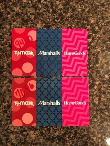 MARSHALLS/HOMEGOODS/TJ-MAXX GIFT CARD IN THE AMOUNT OF $165.06 https://t.co/sdOD9f1vY0 https://t.co/YhvXmysslh