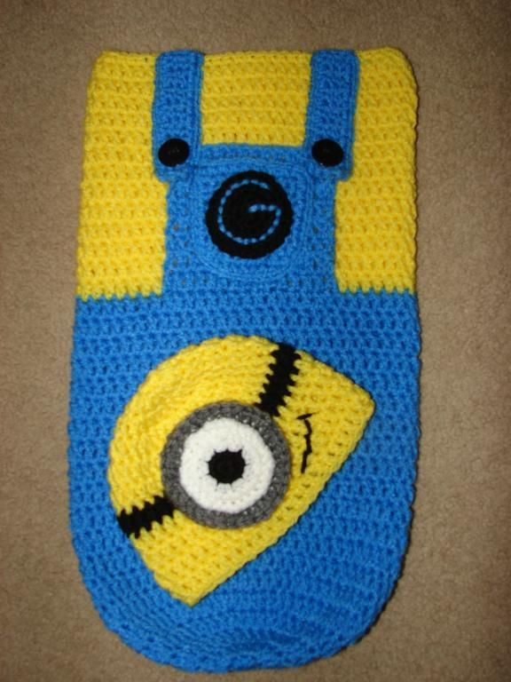 Looking for crocheting project inspiration? Check out Minion Snuggle ...