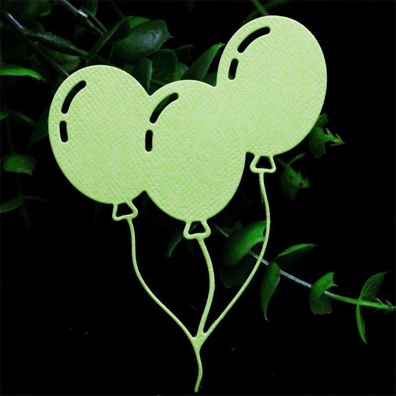 love shape balloons scrapbook cutting dies metal die cuts for scrapbooking#decor