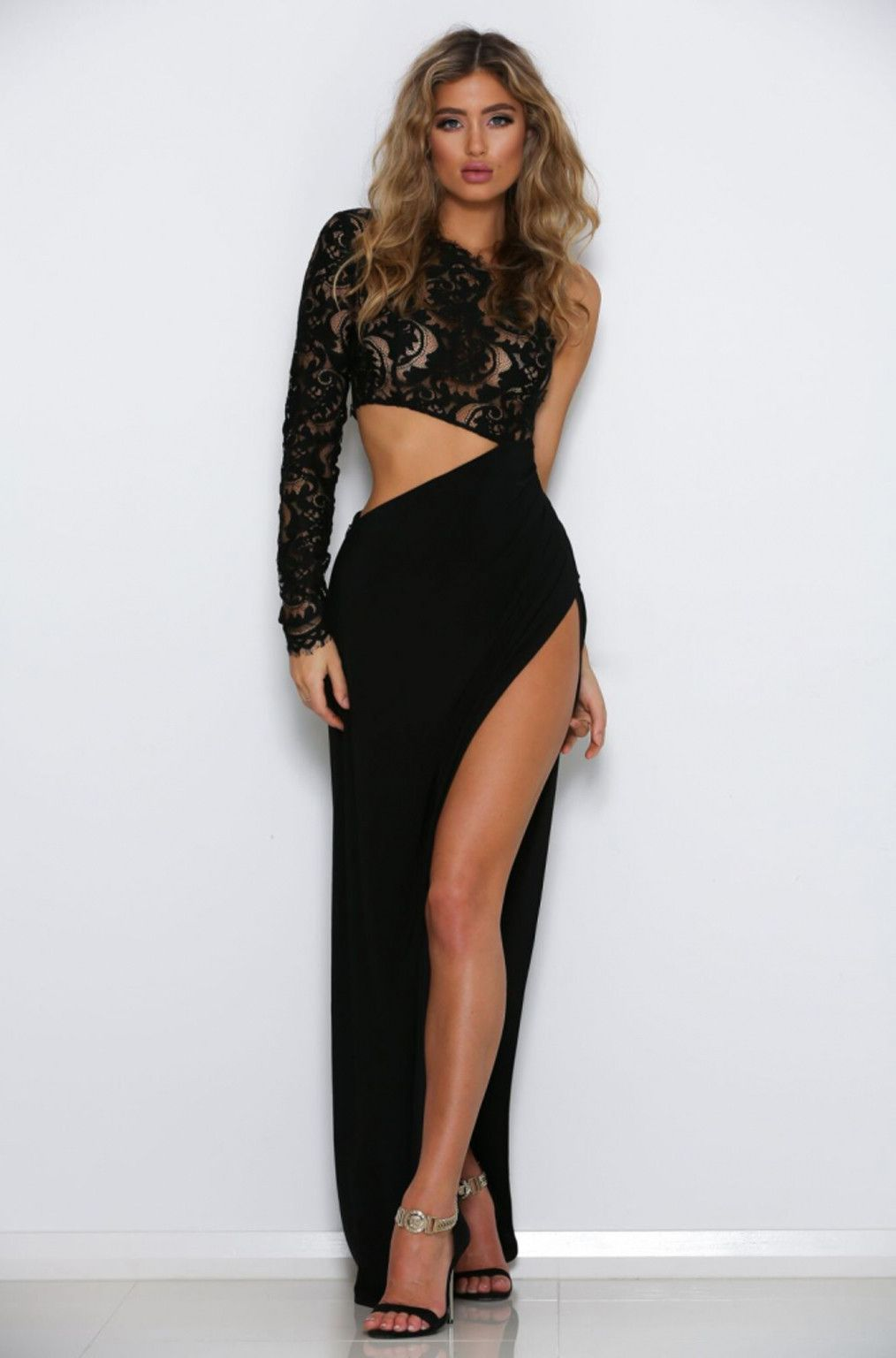 Abyss By Abby - Josette Gown (Black) | NakedDresses.com – Naked ...