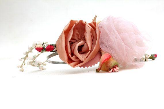 ★ Coral pink rose ★ di Anna su Etsy